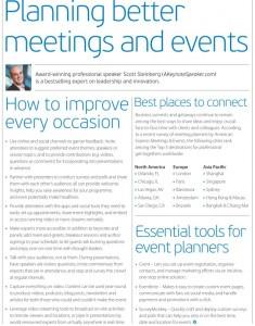 Event Speaker Meetings and Guest Speaking Keynotes